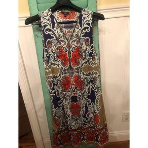 MSK sleeveless dress